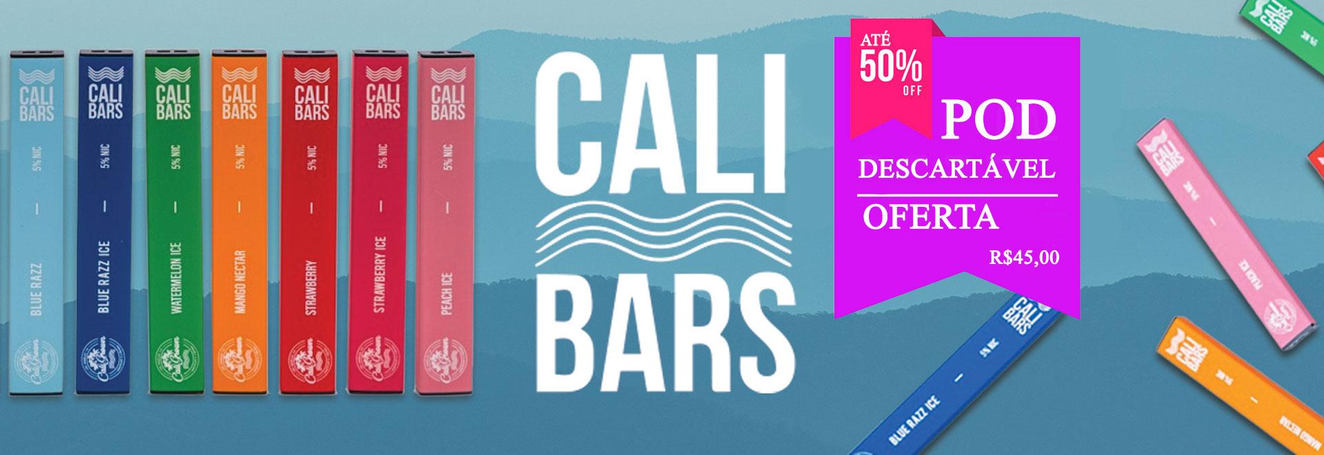 Cali Bars Pod - Pod Descartável