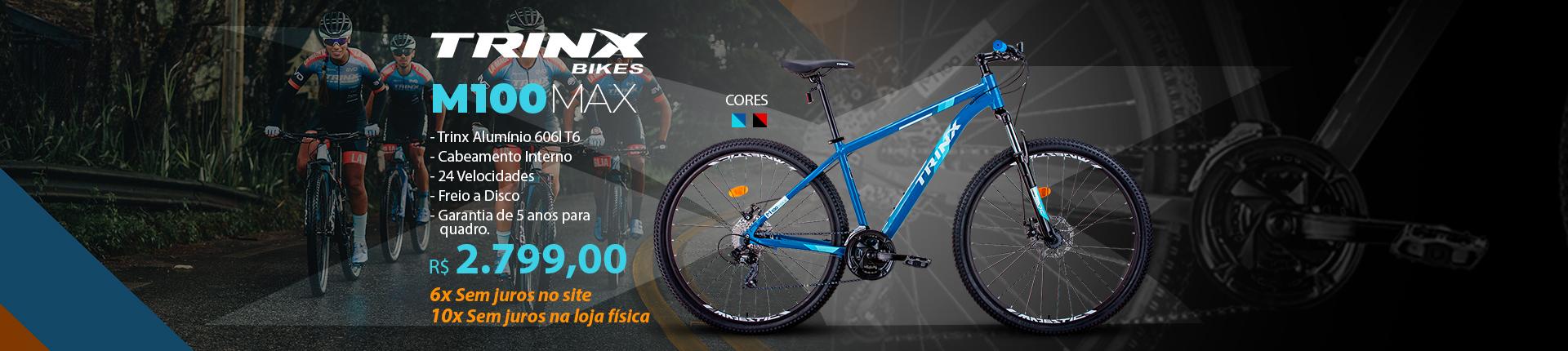 Bicicleta Trinx Alumínio Aro 29