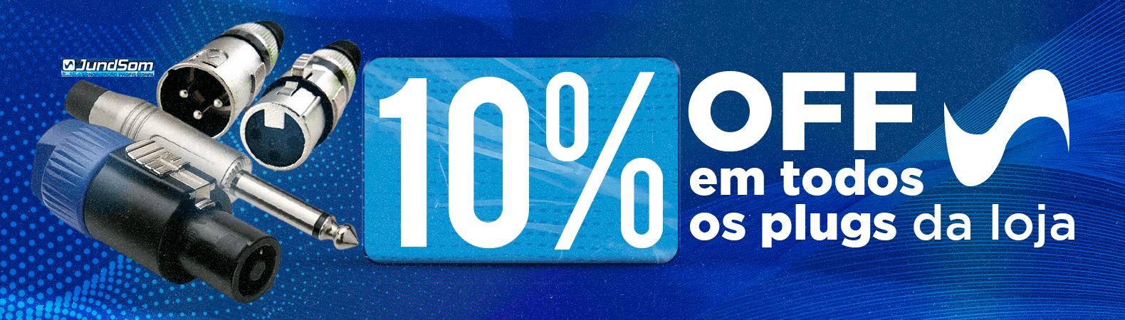 10% OFF - Plugs - 05/21
