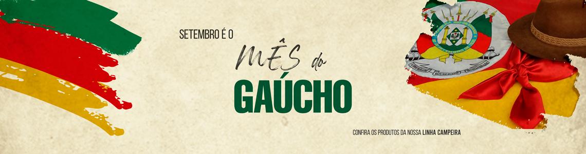 MÊS DO GAÚCHO