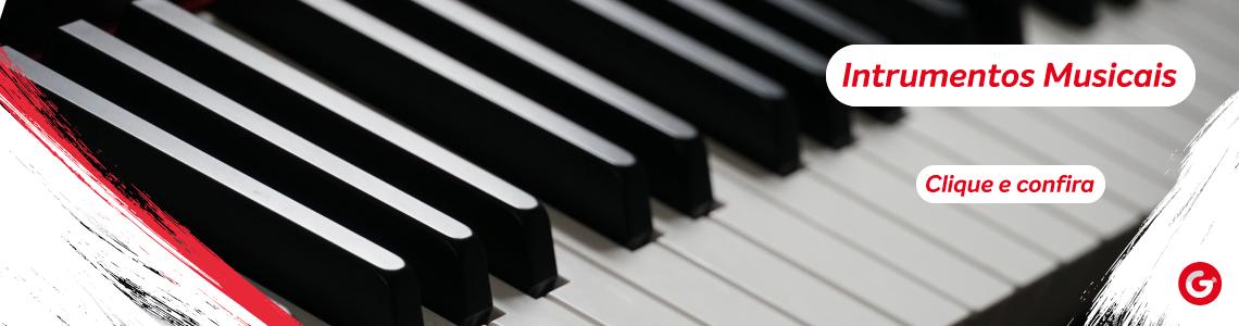 Banner - instrumentos musicais