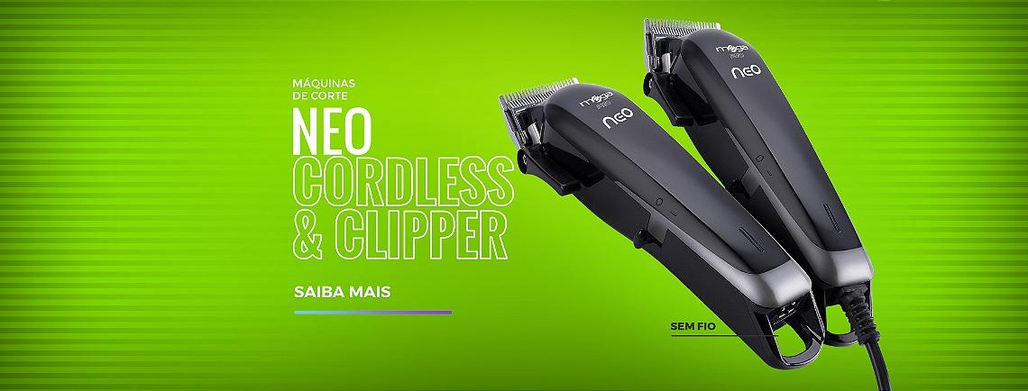 Máquinas de Corte Neo - Cordless e Clipper