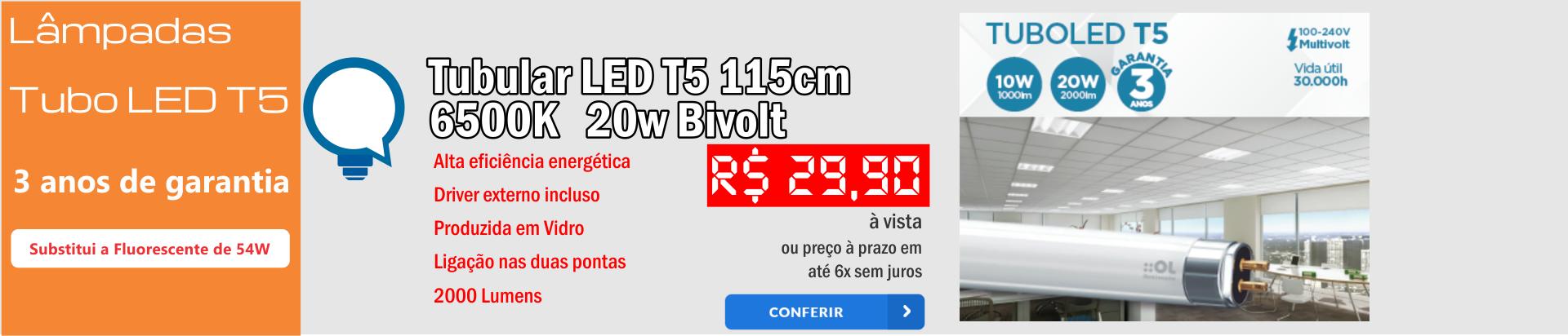 tubular t5 115cm
