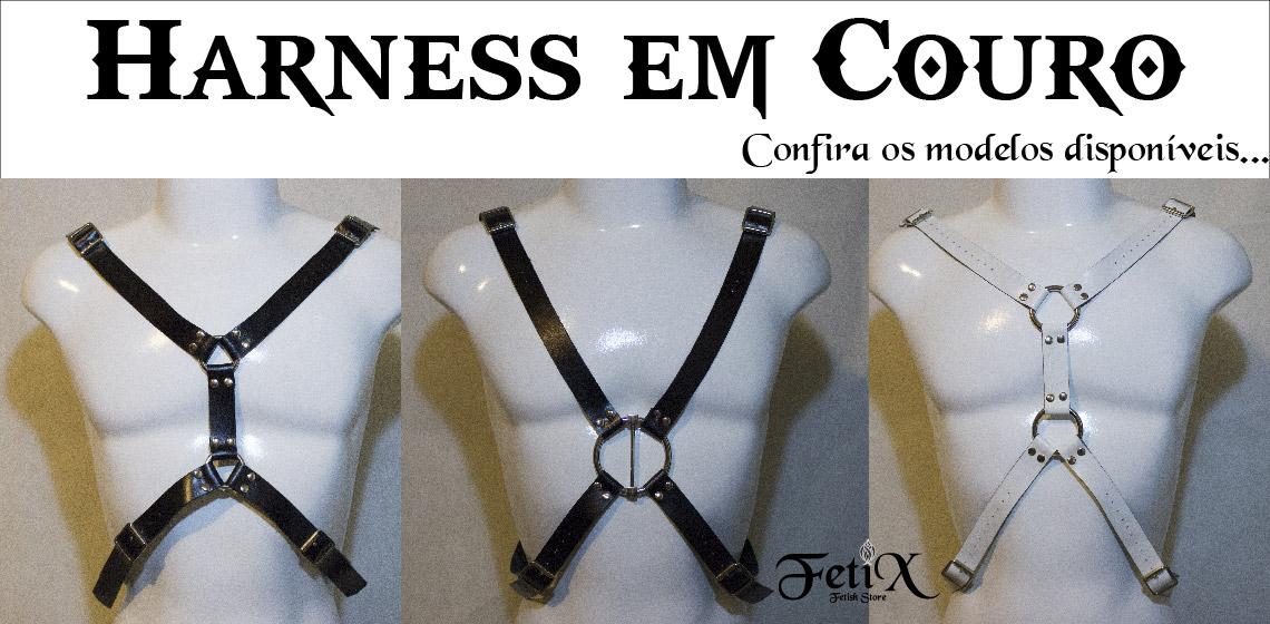 Harness em couro