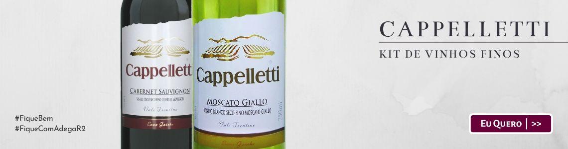 Kit de Vinhos Finos Cappelletti