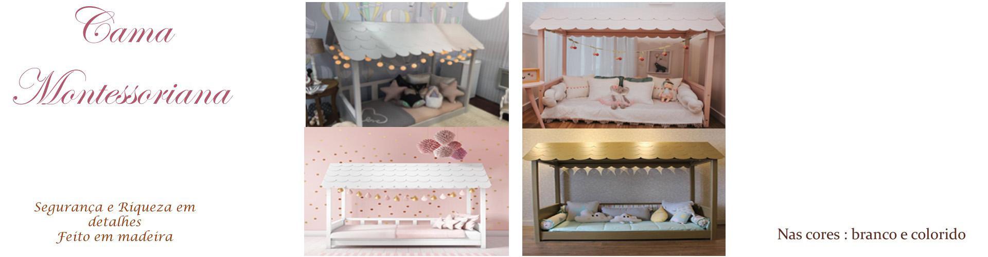 cama casinha montessoriano