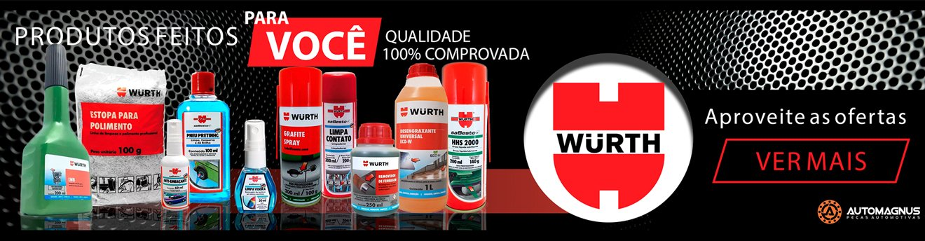 Automagnus produtos automotivos WURTH