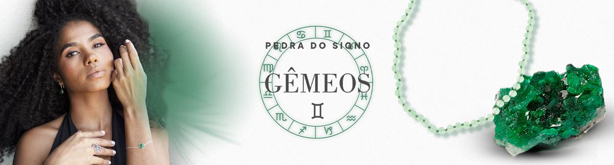 Banner Pedra Gêmeos - Quartzo Verde