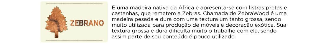 Madeira Zebrano