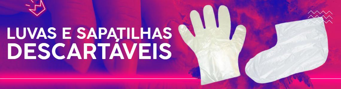 FULL BANNER - LUVAS E SAPATILHAS DESCARTÁVEIS