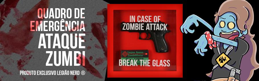 Caixas de Emergência Ataque Zumbi