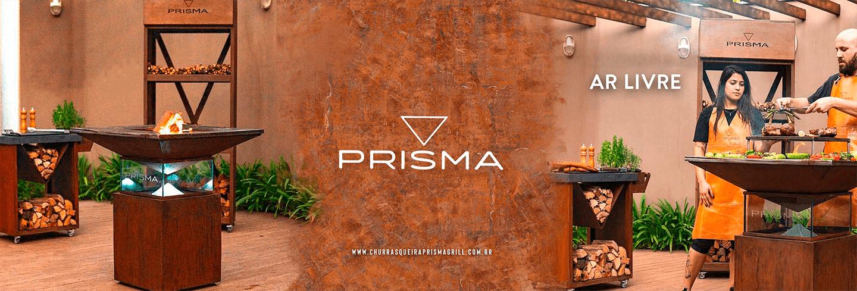 Prisma Grill - Aço corten