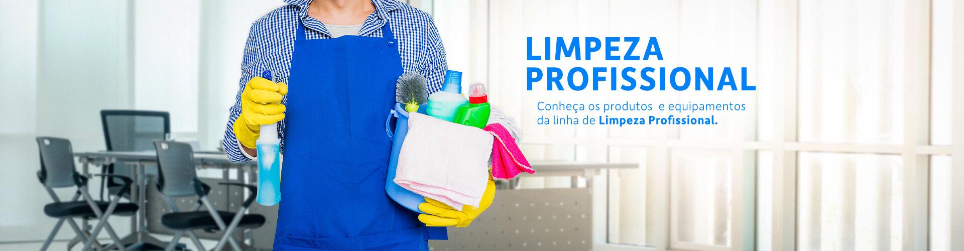 banner limpeza prof