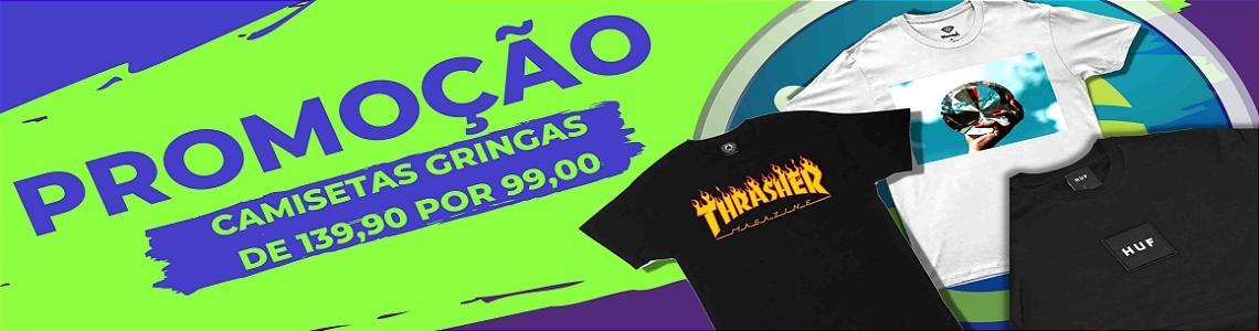 Promoção Camisetas thrasher diamond huf SKATE