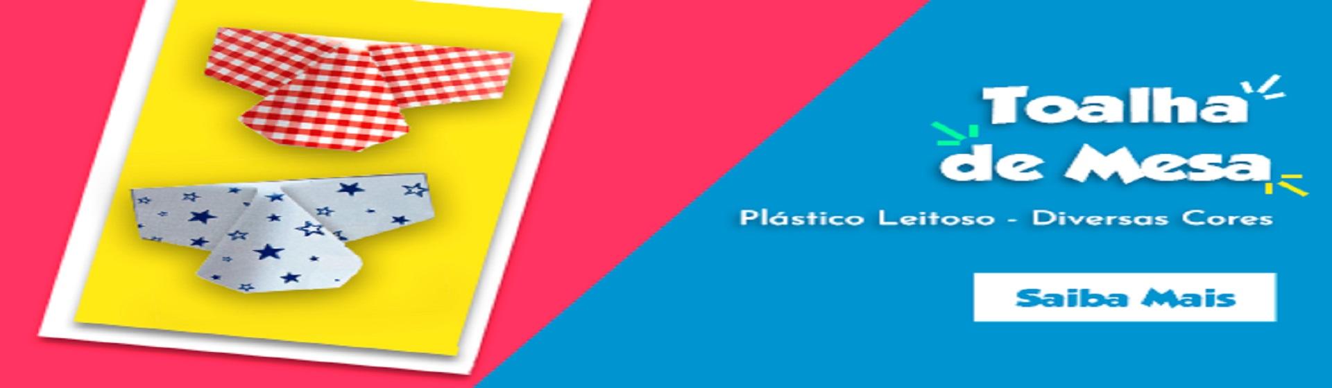 Toalha de Mesa de Plástico