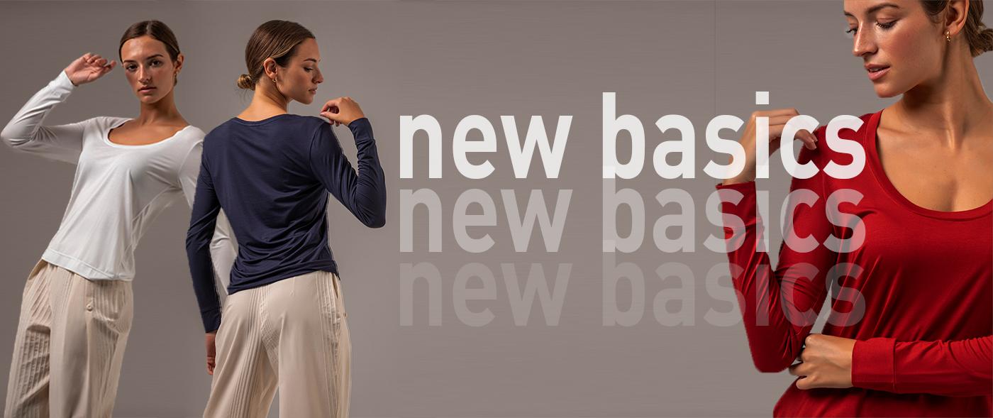 Lançamentos New Basics Ela