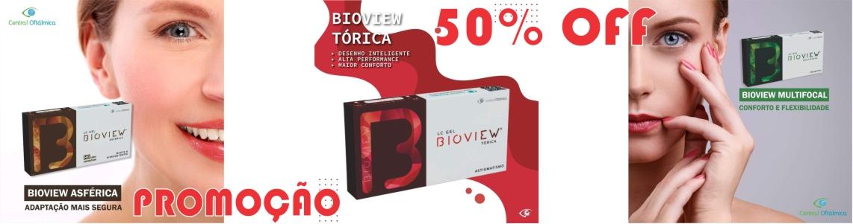 Promoção Lentes de Contato Bioview