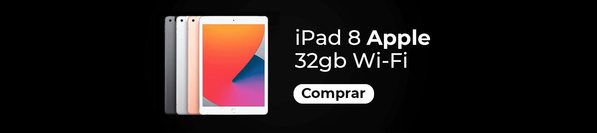 Full Banner Novo iPad 8