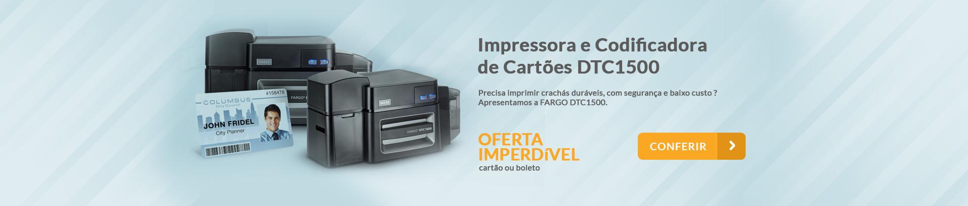 Impressora e Codificadora de Cartoes TDC1500