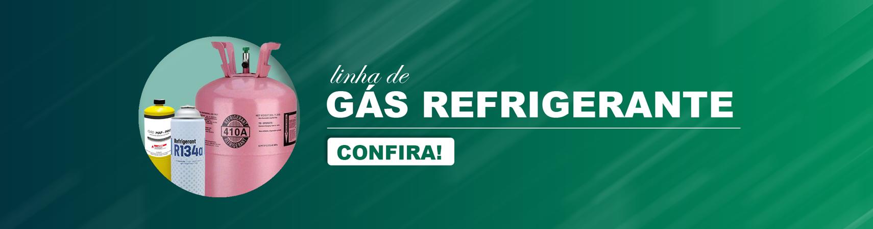 Linha de gás refrigerante