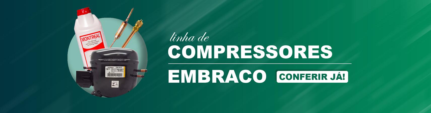 Linha de compressores
