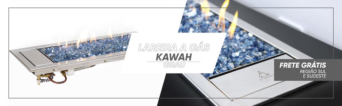 Lareira a gás Kawah - Frete grátis