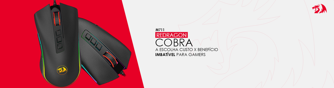 Domine com o Redragon Cobra