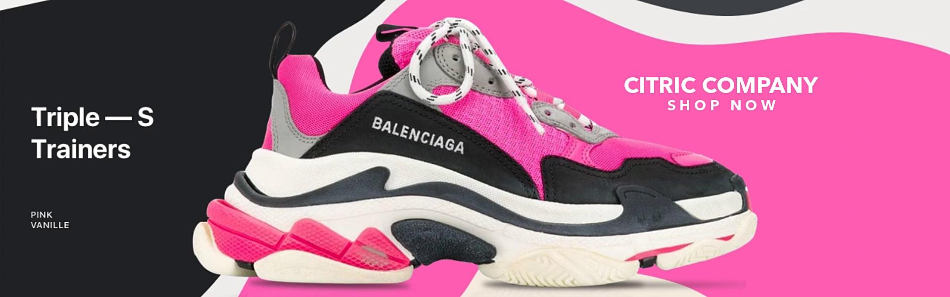 Banner Balenciaga