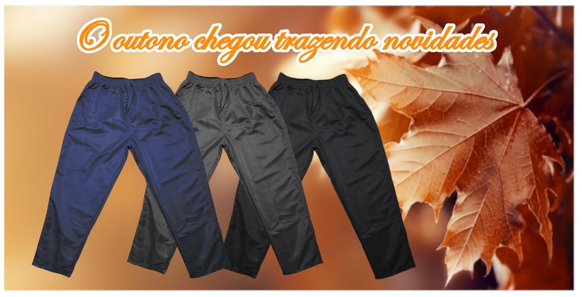 Outono e calças