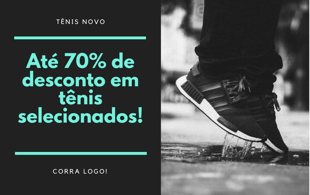 ATÉ 70% DE DESCONTO