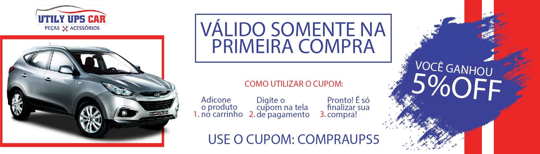 CUPOM - Primeira Compra