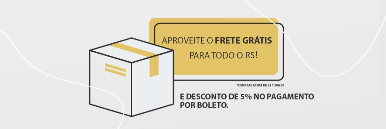 Banner Frete Grátis RS (5%)