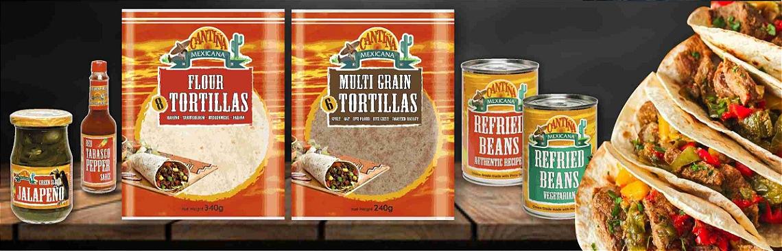 Banner-cantina-mexicana-tortilha-pimenta-tabasco-feijao-refrito