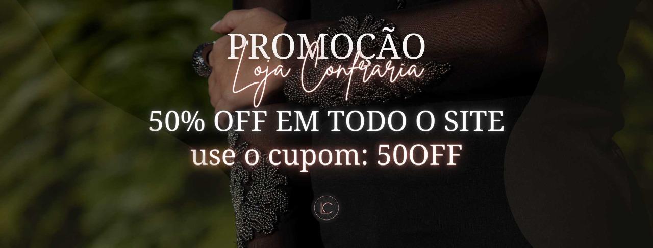 Cupom 50% OFF 1