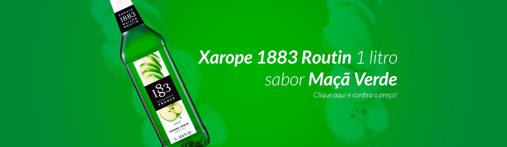 Xarope 1883 Maçã Verde