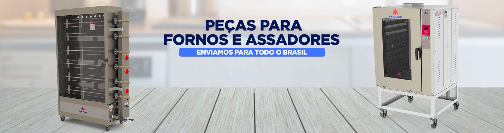 PEÇAS PARA FORNO E ASSADORES