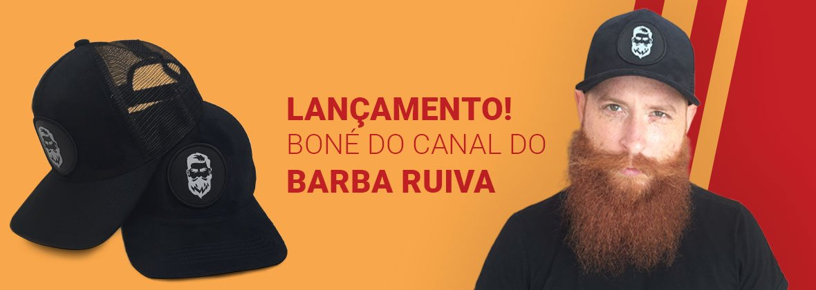 Boné Truck canal Barba Ruiva