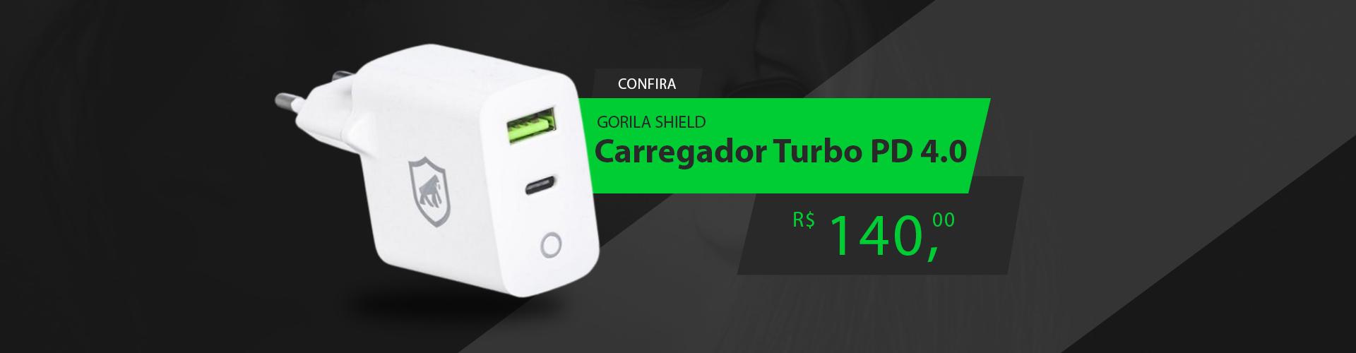 Carregador Turbo Power Delivery QC 4.0