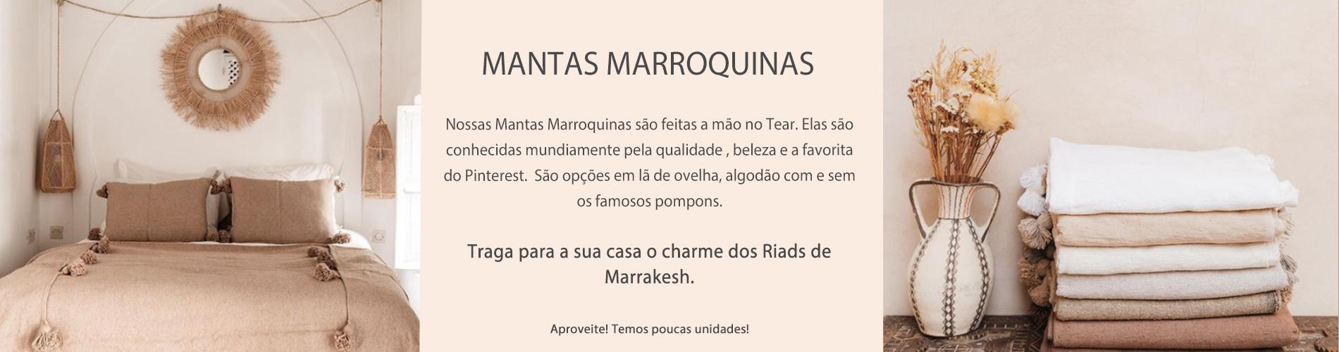 Mantas de Marrakesh página de produtos
