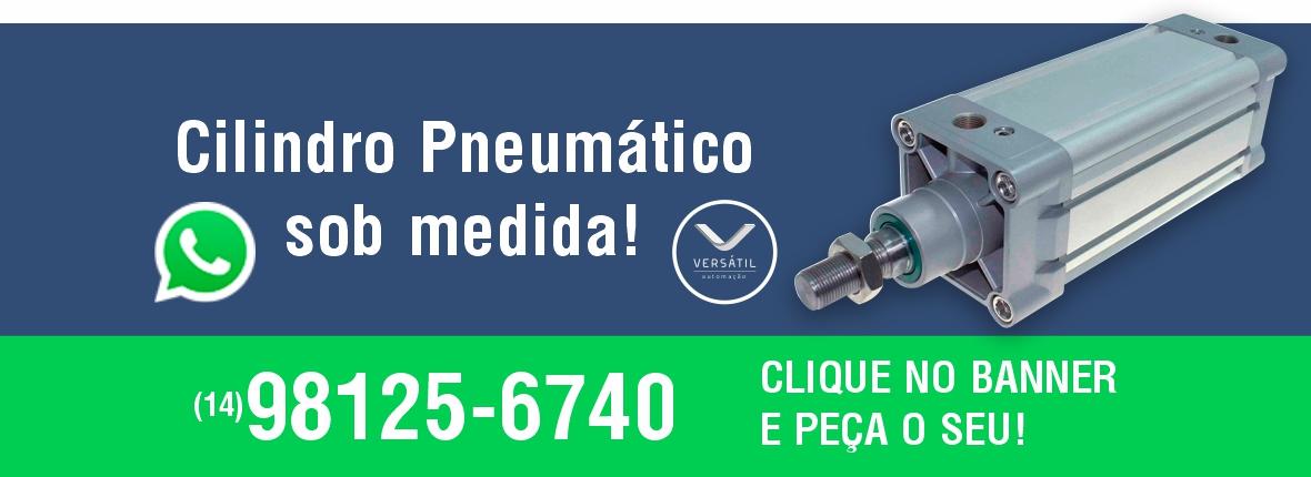 Cilindro Pneumático Sob Medida - Whatsapp