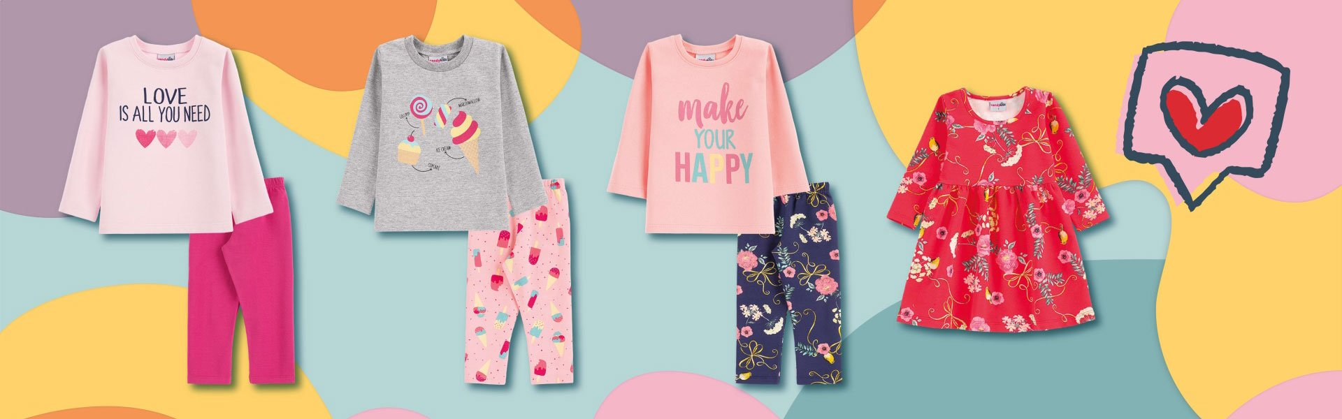 Banner Candy Kids Fashion 2