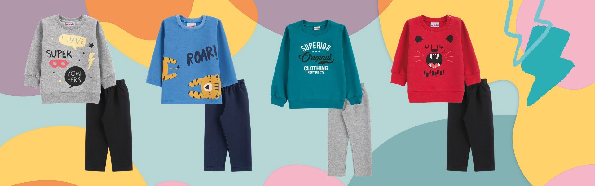 Banner Candy Kids Fashion 3