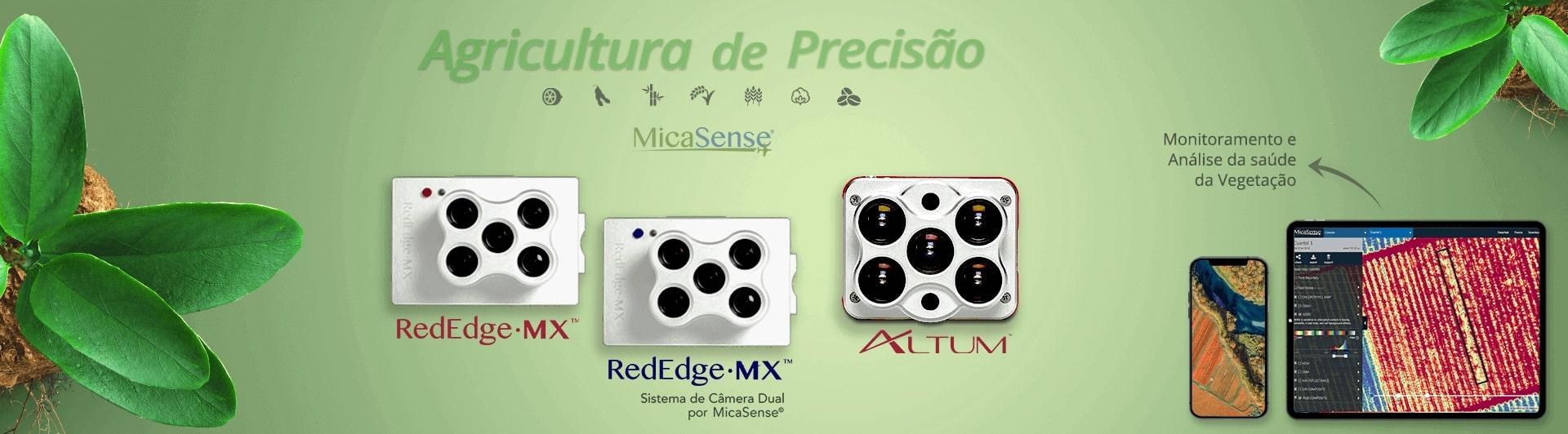 Sensores Micasense Multispectrais Super Importadora