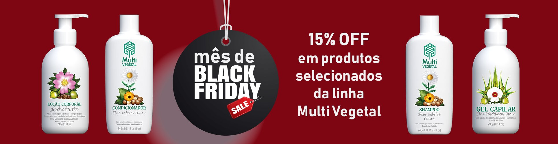 balck friday multi vegetal