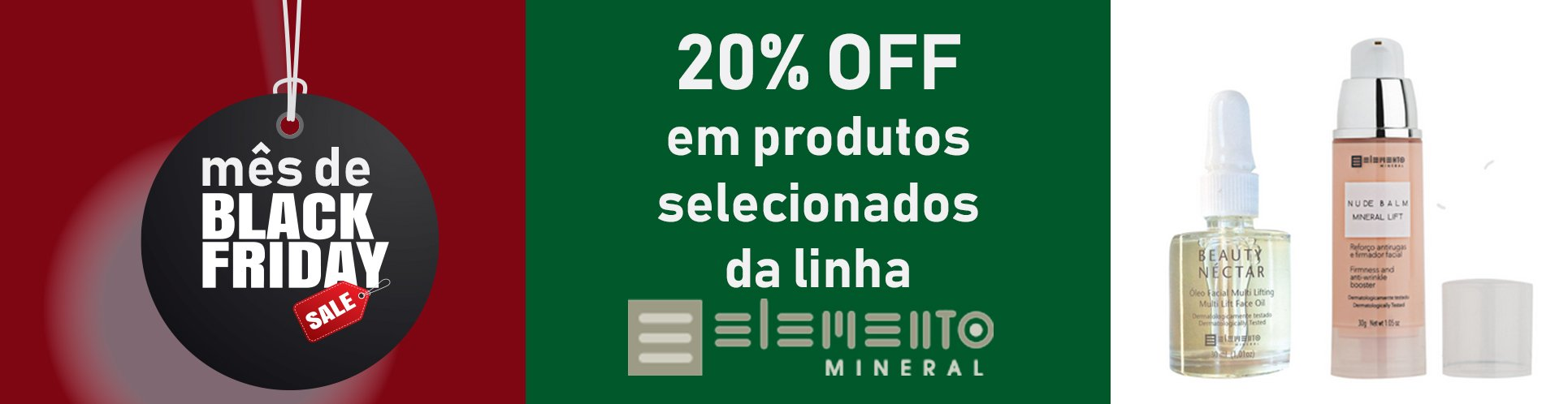 black friday elemento mineral