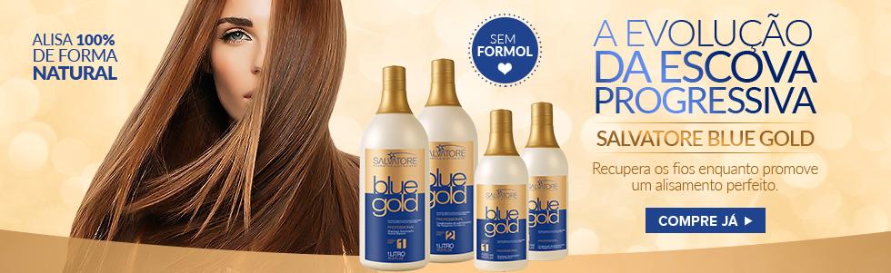 Salvatore Blue Gold Escova Progressiva