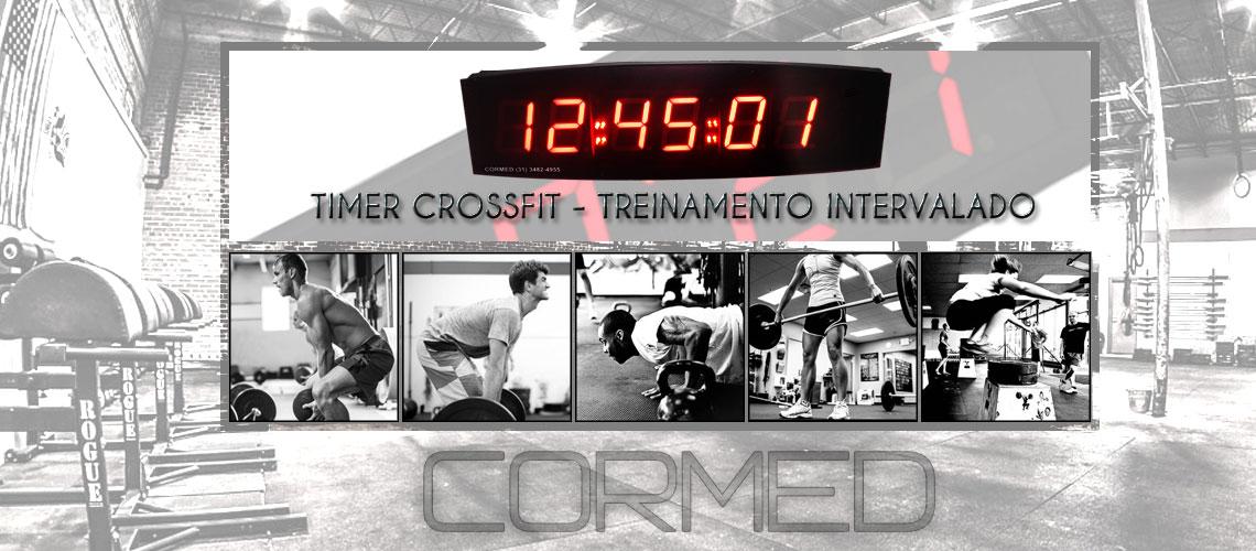 TIMER CROSSFIT + RELÓGIO / TREINAMENTO INTERVALADO - R$900,00