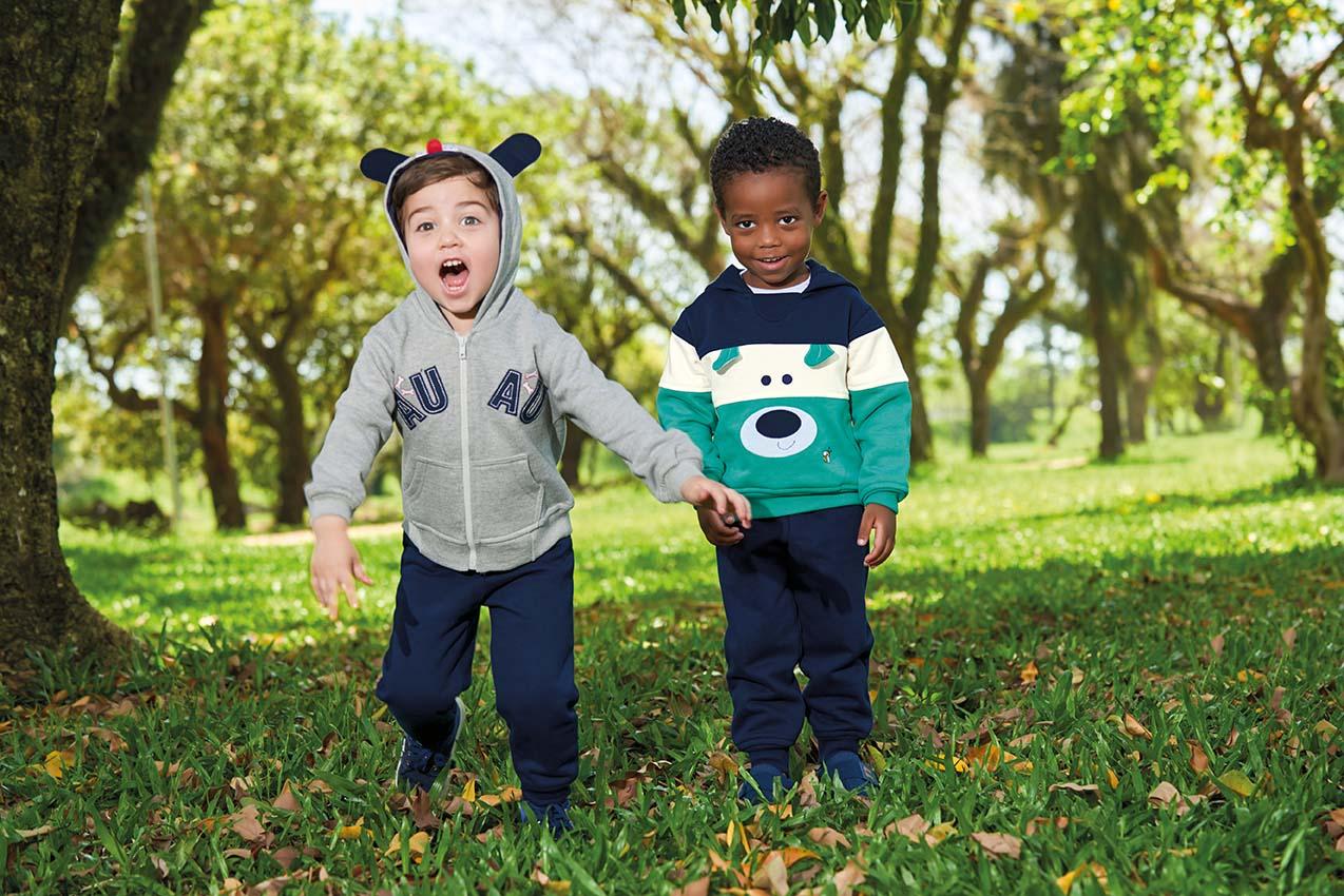 2 meninos urso