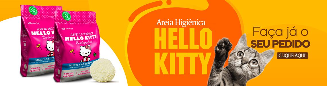 AREIA HELLO KITTY