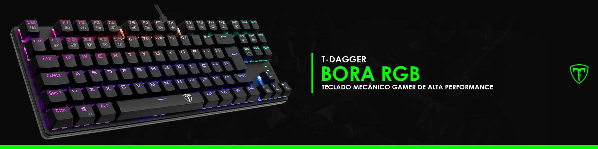Domine com o T-Dagger Bora RGB